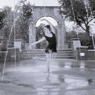 Fountain Ballet Dancer